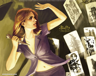 Buffy Season 8 Wallpaper